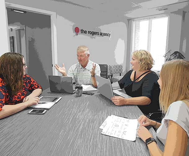 Rogers Agency around table