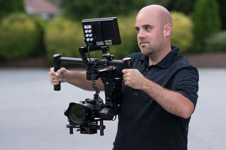 Video Production - Justin with Gimbal
