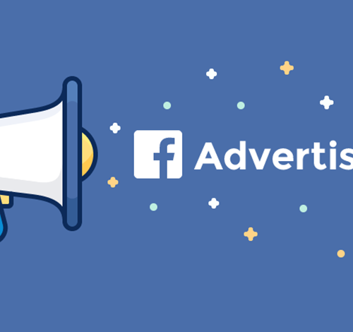 Facebook Advertising with megaphone