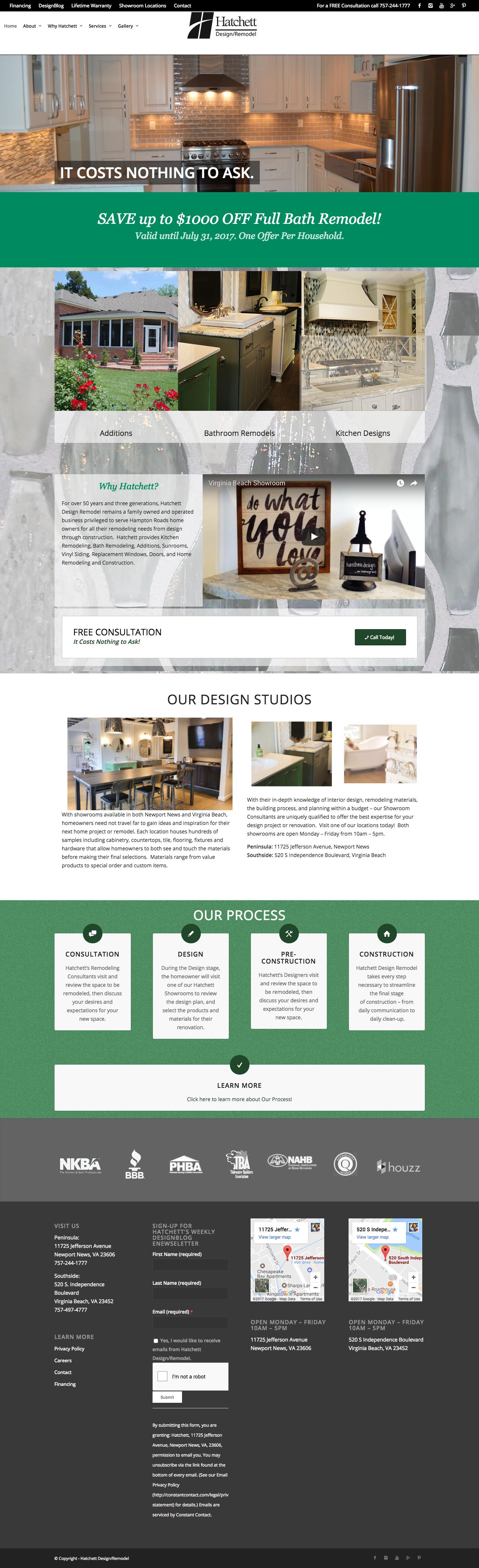 Website - Hatchett Design Remodel