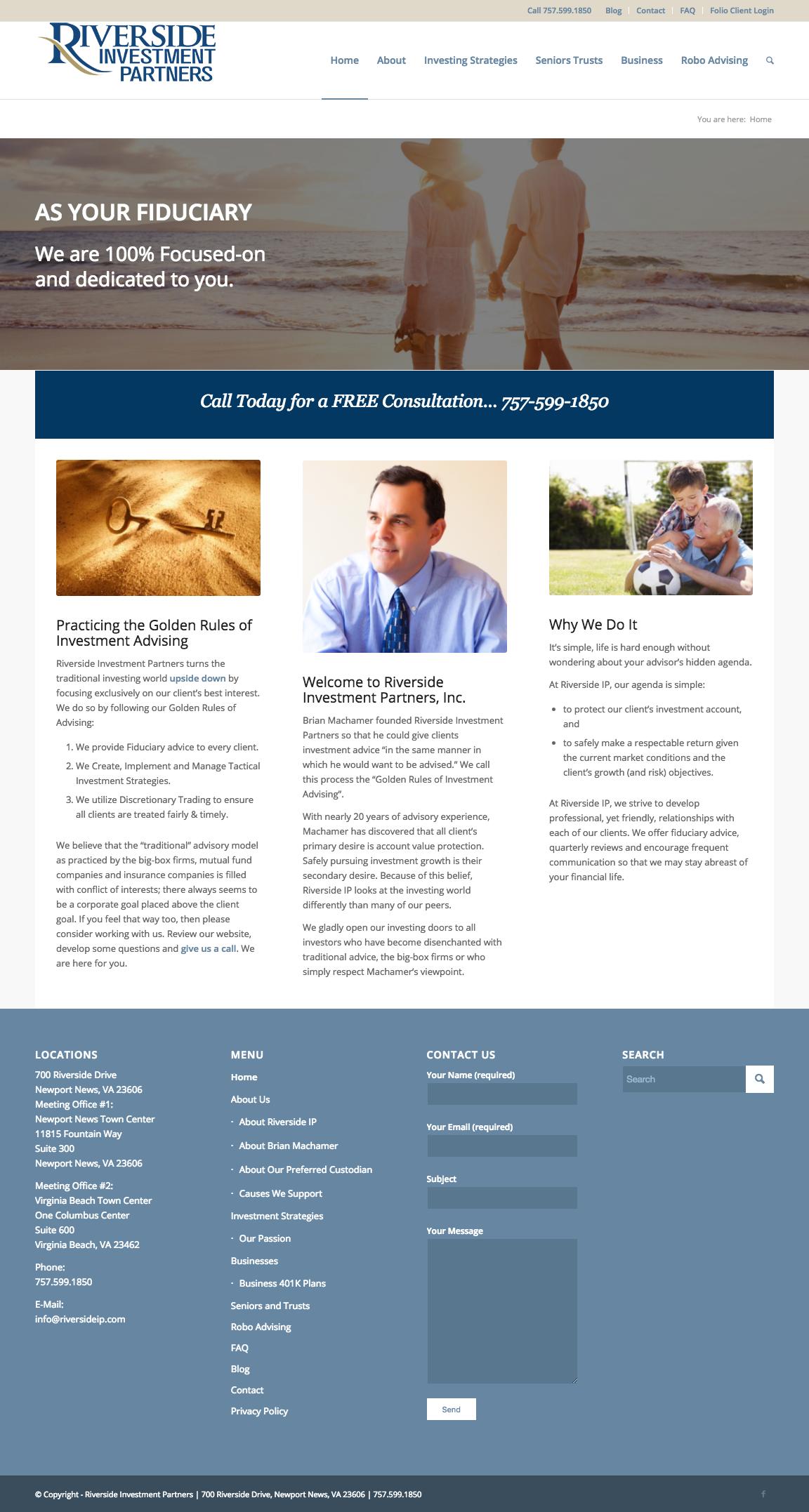 Website - Riverside Investment Partners